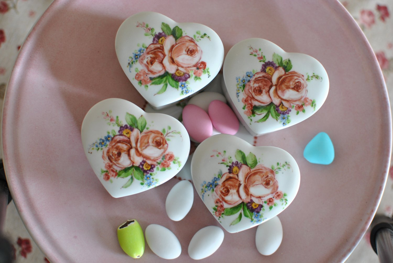 Bomboniere ceramica cuore